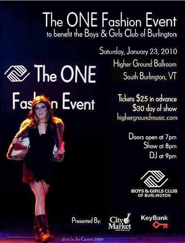 The Boys & Girls Club of Burlington ONE Fashion Event 2010