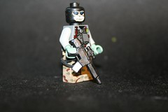 Ghost with Bushmaster ACR (kenneth nielsen a.k.a Qenhyt) Tags: 2 modern mod call paint with lego military glue duty ghost ba acr warfare bushmaster mw2 of brickarms