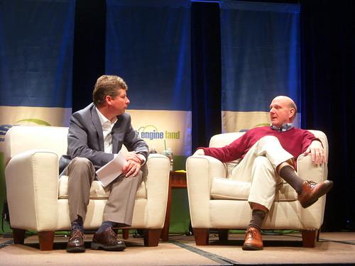 Steve Ballmer & Danny Sullivan - Keynote at SMX West 2010