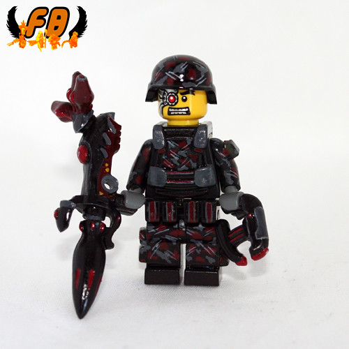 Custom minifig Future Warrior - USMD Specialist
