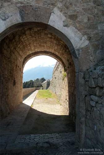 Archway, Fortress of Civitella del Tronto