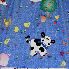 Adorable Country Kitchen Apron- Barn-Yard Friends