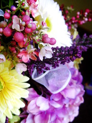 Part of Lydia's bouquet