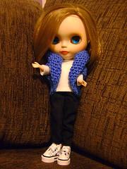 de colete que a mamy tricotou....