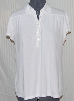 34 White Cotton T-shirt Sz XL $1.50