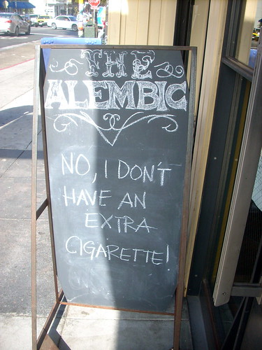 NO, I DON'T HAVE AN EXTRA CIGARETTE!