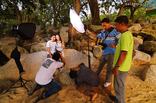 BTS : Hafiz & Not Photoshoot #2 (by Sir Mart Outdoorgraphy™)