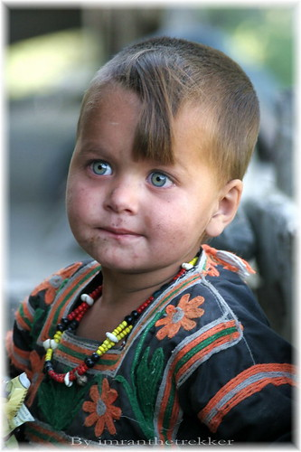 A Kalash Cherub, Chitral
