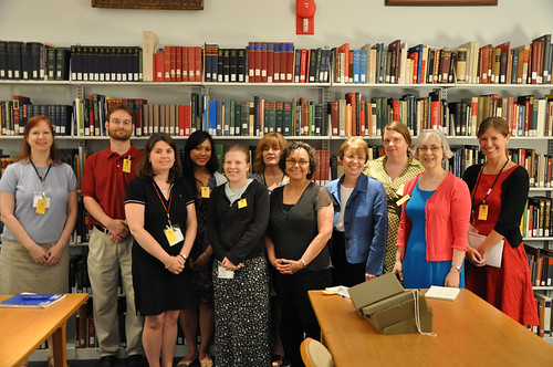 CUA Visits the Libraries