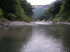 渓谷ですね。