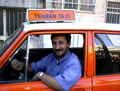 Iran, Tehran Taxi