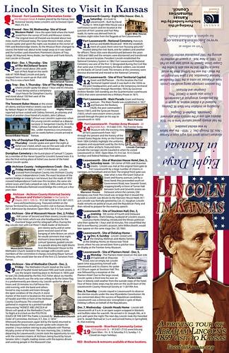Lincoln in Kansas Brochure