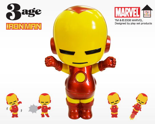 Marvels 3 Age Iron Man Action Figure
