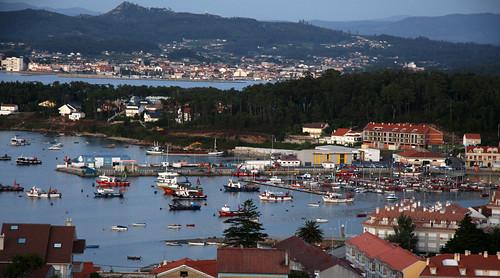 Porto da Illa con Lobeira