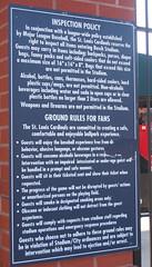 Ballpark rules