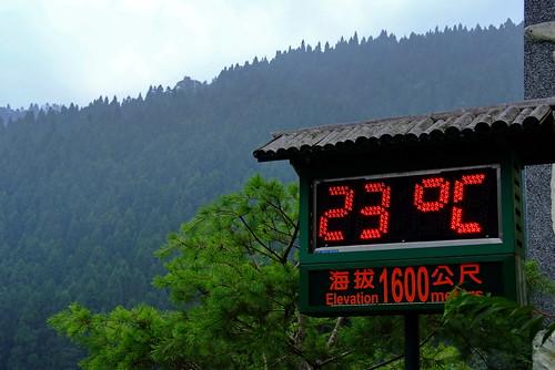 海拔1600米的涼爽