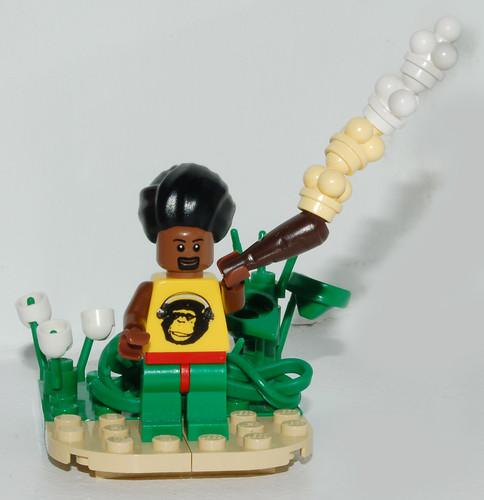 Bob Marley LEGO custom minifig