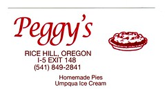 peggy's (mudsharkalex) Tags: oregon businesscards peggy peggys businesscard ricehill