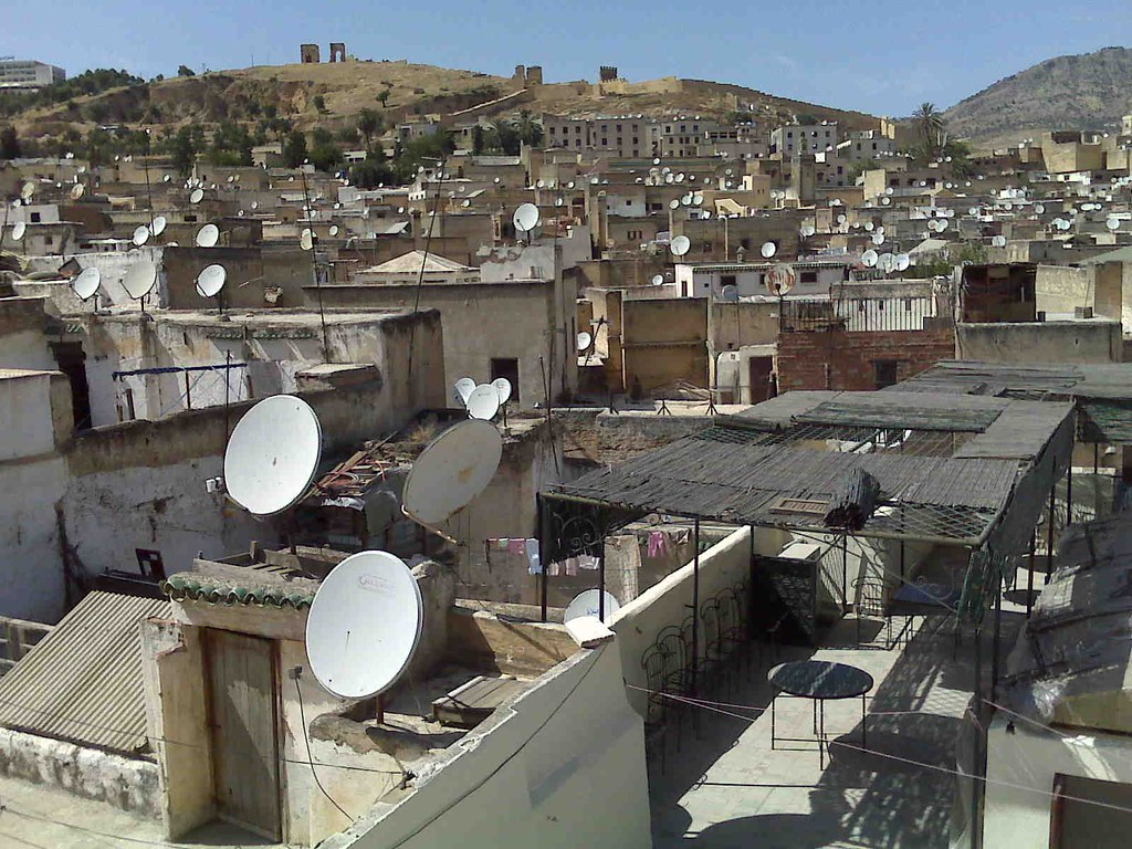 Dishes over Fez