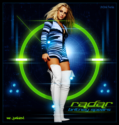 Britney Spears Radar poster 2