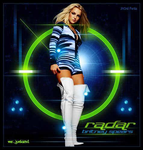 Britney Spears Radar poster 2