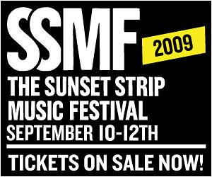 Sunset Strip Music Festival September 10-12, 2009