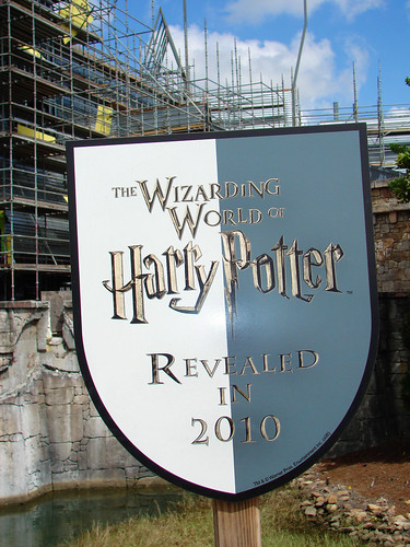 Harry Potter Construction Sign