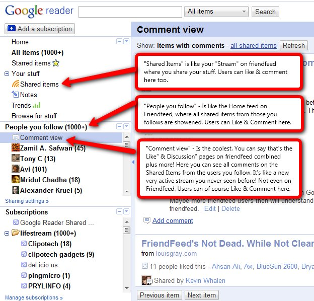 Google Reader is the New FriendFeed