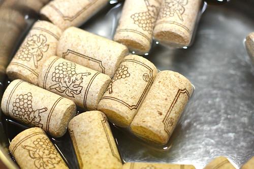 corks soaking
