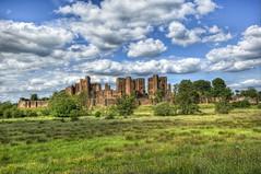 Kenilworth Castle (hangfour) Tags: castle clouds nikon ruins angle wide d2x hdr kenilworth