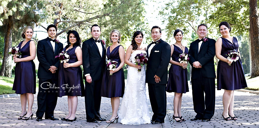 Westlake Village Inn bridal party