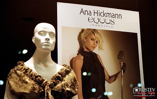 Eu fotografei Ana Hickmann... rsrs