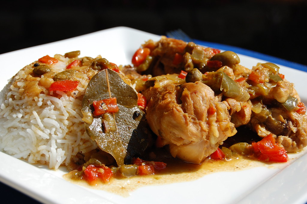 Cuban Chicken Fricassee