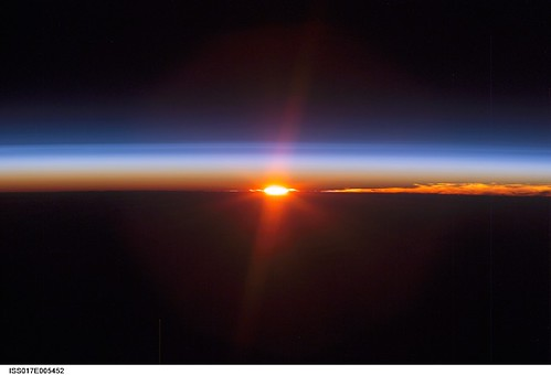 Earth's Sunset (NASA, International Space Station Science, 04/26/08)
