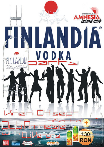 4 Septembrie 2009 » Finlandia Votka Party