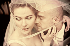 intense (Marta Potoczek) Tags: wedding portrait 50mm couple veil marta d3 zdjcia lubne potoczek