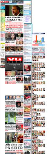 VG forsiden kl 23.20