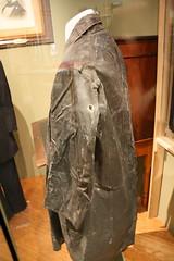 Stonewall Jackson's Raincoat (oldsouthvideo) Tags: museum virginia arm general lexington military wounded confederate institute civilwar va shoulder wound raincoat vmi csa stonewalljackson