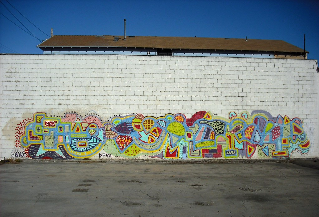 BKF Graffiti Piece - Oakland California.