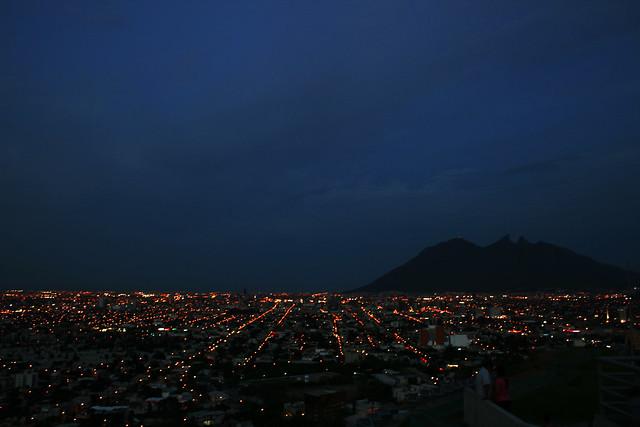 Monterrey @ nite