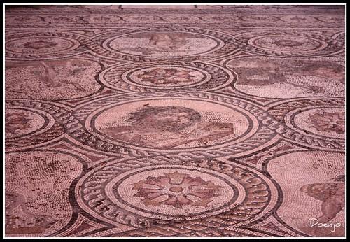 Mosaico del Dios Pan