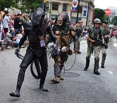 Alien, Predator, and Barney Fife?