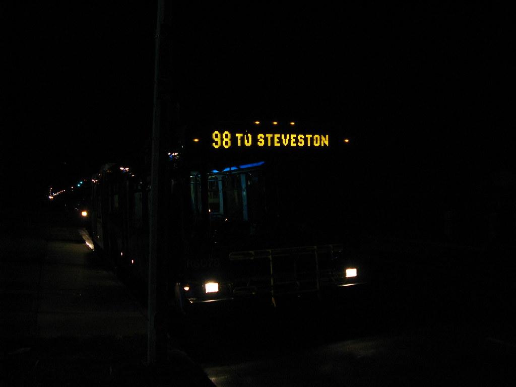 8078: 98 To Steveston & Shell