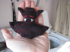 Test Knit - Bat