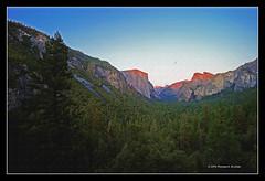 Yosemite Alpen Glow (tom911r7) Tags: california leica trees mountains texture canvas valley yosemite halfdome elcapitain m9 trielmar tom911r7 thomasbrichta