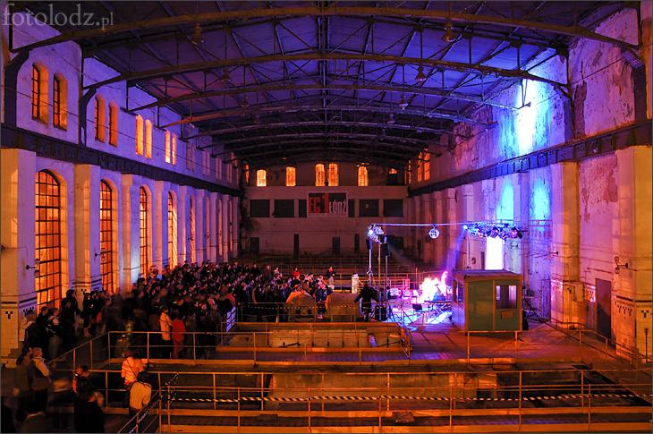 Koncert w Hali Maszyn w EC-1 w Łodzi