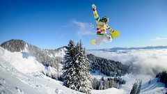 Backside Air (Madl2) Tags: winter snow sport jump action air snowboard trick wurzeralm backsideair fetz fetzy