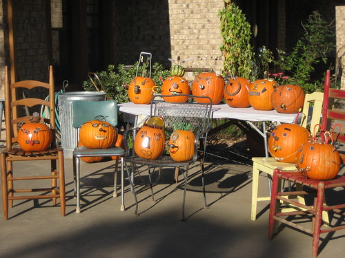 Group shot of Junk Pumpkins