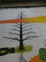 A Tree Grows in San Francisco (Aunti Juli) Tags: sanfrancisco mural foundinsf gwsf