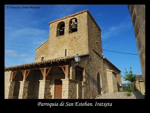 Parroquia de San Esteban. Iratxeta
